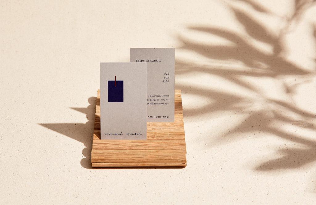 Nami Nori business cards