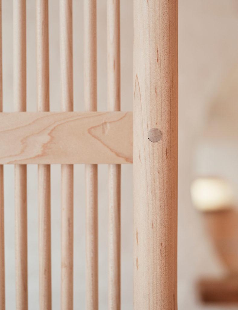 Wood detail at Nami Nori