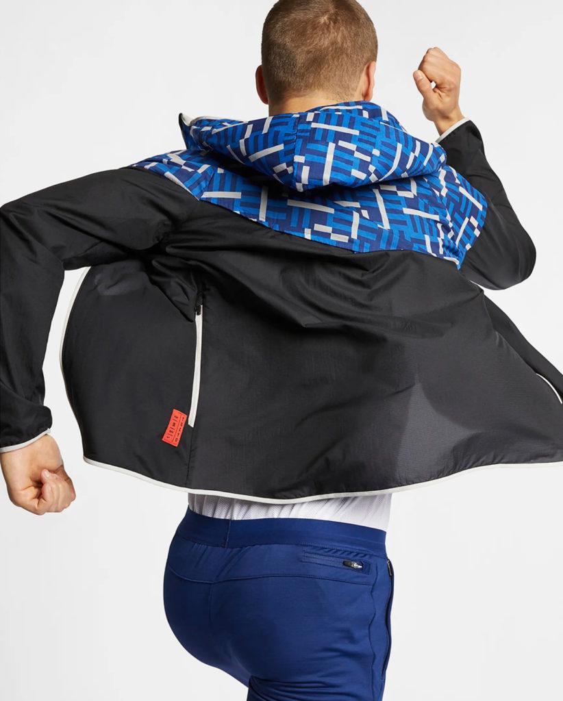 Man in 2019 Tokyo Marathon for Nike by LMNOP apparel.
